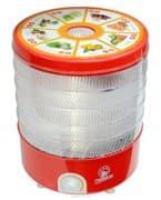 Сушилка для овощей и фруктов электр. ВАСИЛИСА СО3-520, 520 Вт, прозрачная